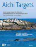 Aichi Targets Newsletter, April 2012